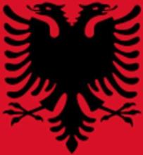 Flag - Albanien