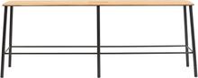 Frama - Adam Benk 120cm, Sort/Eik