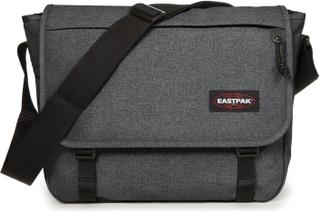 Eastpak Delegate + pc veske med skulderrem, Mørkgrå