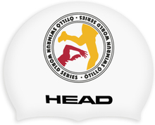 Head ÖTILLÖ Silicon Moulded Swimcap white logo 2017 Badehetter