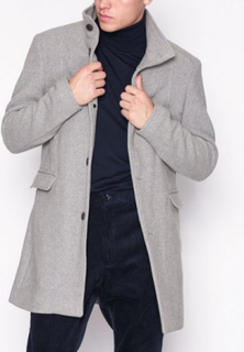 Selected Homme Slhmosto Wool Coat B Jakker Grå