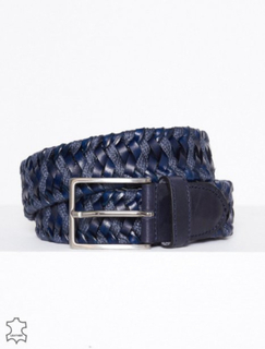 Morris Morris Belt Male Belter Navy