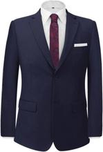 Vidaxl tvådelad kostym herrar marinblå strl. 50 0354594664979