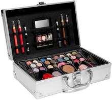 Sminkekoffert med all makeup du trenger