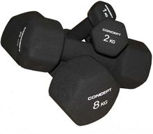 Concept Neopren dumbbell black