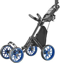 Caddytek One V8 - 4 Wheel Golf Trolley- Blue