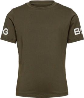 Tee Borg Borg T-shirts Short-sleeved Grön Björn Borg