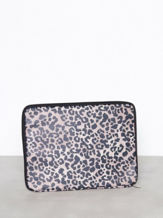 Datavesker - Mønstret New Look Brown 15'' Leopard Print Laptop Case