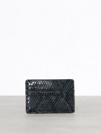 Kortholder - Dark Green New Look Snake Slot Cardholder