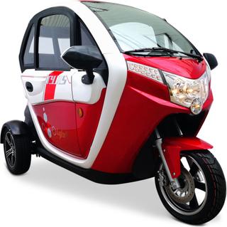 Elektrisk mopedbil 2000W   Moped klass 2   25km/tim