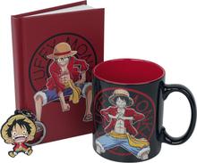 One Piece - Geschenk-Set -Fan-pakke - flerfarget