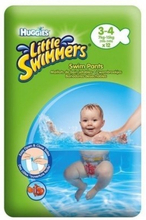 Huggies Little Swimmers Swim Pants 3-4 12 stk