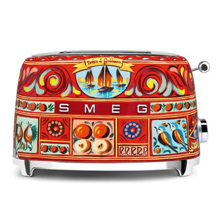 Smeg - Smeg Toaster 2 Skiver, Dolce & Gabbana