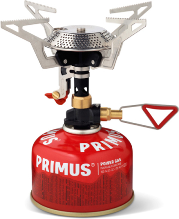 Primus Power Trail Piezo Reg. Campingkoger rød 2019 Gaskogeplader