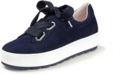 Sneakers i 100% skinn från Gabor Comfort blå