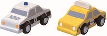 City Taxi & Police Car