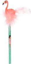 Flamingo Blyertspenna med suddgummi - TOPModel