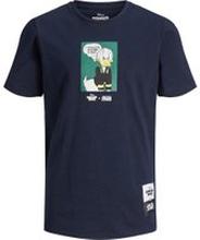 JACK & JONES Junior Kalle Anka-prydd T-shirt Man Blå