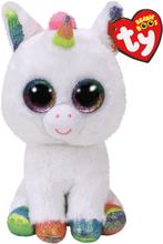 TY, Beanie Boos - Pixy white unicorn 23 cm