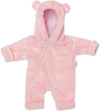 Skrållan Lillans rosa overall