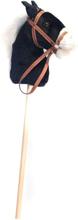 Övrigt lek Käpphäst 95 cm svart