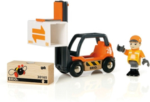 BRIO, Lift & Load 33573 Gaffeltruck med förare