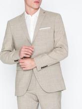 Selected Homme Slhslim-Buffalooasis Sand Blazer B Blazere & dresser Lys brun