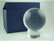 Kristallkula 8 cm