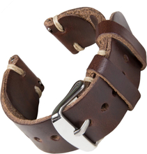 Bofink® Handmade Leather Strap for Pebble Time - Brown/Sand