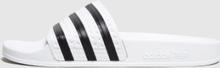 adidas Originals Adilette Slides Dam, vit