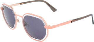 Diesel dl0267 73a dl0267 - Pink - Gold, Gray Tint, Dame - Diesel solbriller