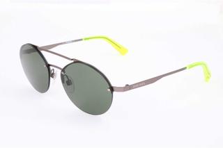 Diesel dl0275 09n dl0275 - Gunmetall - Green, Green Tint, Unisex - Diesel solbriller