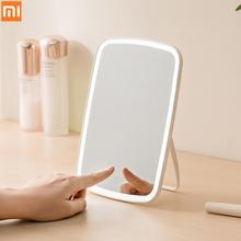 Original xiaomi Mijia makeup mirror Smart Intelligent portable desktop led light portable folding light mirror dormitory desktop