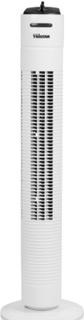 Tornfläkt 79cm Vit med Inbyggd