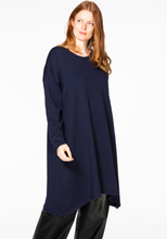 Pullover-dress pointy 42/44 blue