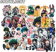 73pcs My Hero Academia Suitcase Stickers Laptop Skateboard Izuku Midoriya All Might Boku no Hero Academia Anime Character Decals