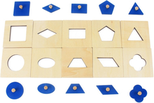 Family Version Baby Toy Montessori Wood Insets Set/10 Early Childhood Education Preschool Training Kids Toys Brinquedos Juguetes