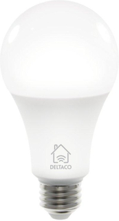 Deltaco Smart Home E27 Smart Bulb 9W - Hvid