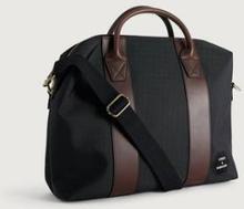 Steele & Borough Weekendbag The Briefcase Svart