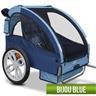 Cykelvagn för upp till 2 barn Blå Cykelkärra