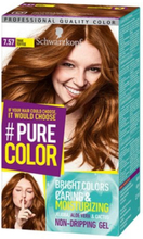 Schwarzkopf Pure Color Hårfärg 7.57 True Toffee
