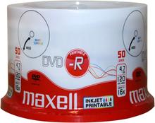 Maxell DVD-R 4,7GB InkJet Print 50st