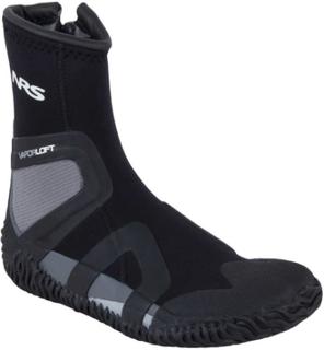 NRS Paddle Wetshoes Herre black/gray US 6 | EU 39,5 2019 Padlesko