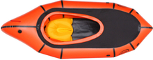 nortik TrekRaft Dinghy med motorhjelm, orange/black 2019 Gummibåde