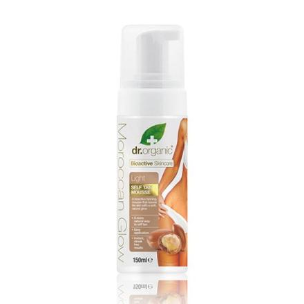 Dr. Organic Moroccan Glow Selvbruner light (150 ml)
