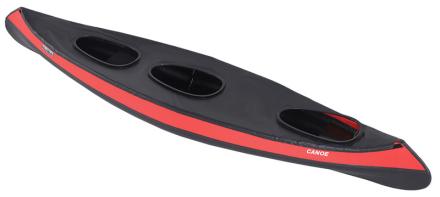 Triton advanced Canoe med tre pladser sort 2017 Tilbehør til gummibåde