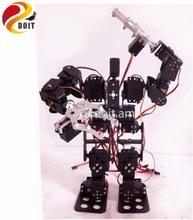 15DOF Humanoid Robot Feet Walking Robot A full set of Servo Stent Accessories+2PCS Robot Metal Mechanical Claw