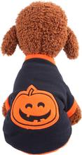 Haustier-Hundepunkt-Muster Halloween-Kostüm-warmer Welpen-Halloween-Strickjacken-Kleidung