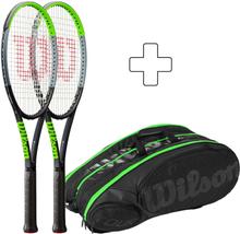 Wilson 2x Blade 98 16x19 V7.0 Plus Tennistasche Griffstärke 4