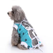 Haustier Hundebekleidung Medizinische Versorgung Hund Chirurgie Kleidung Für Postoperative Pflege Physiologische Weste